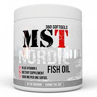 MST Nordic Omega 3 Fish Oil caps 360