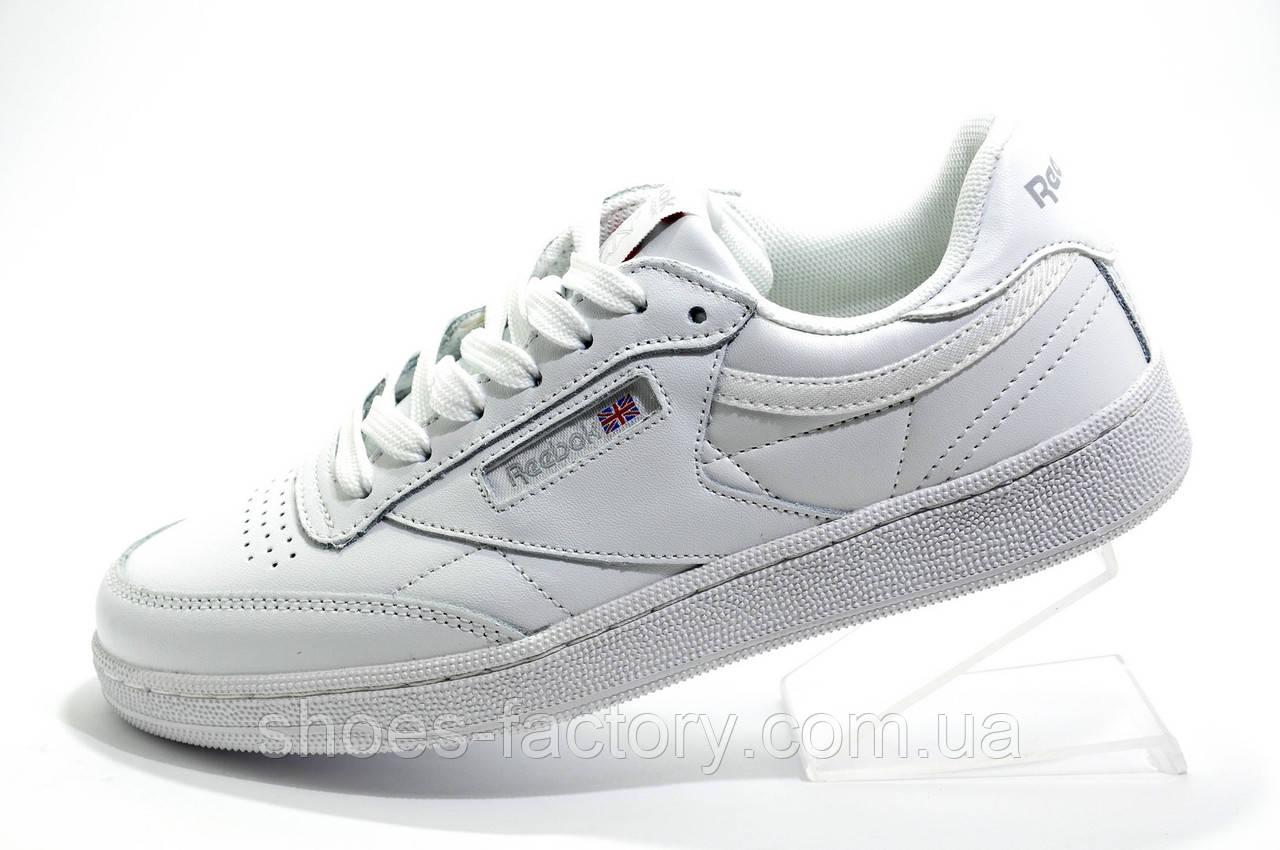 Женские кроссовки в стиле Reebok Club C 85, White