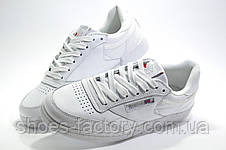 Женские кроссовки в стиле Reebok Club C 85, White, фото 3