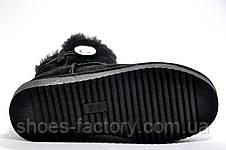 Угги женские, Black (Натуральная замша), фото 3
