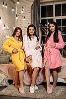 Женский халат, халат Турция, Massimo Monelli