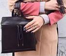 Кожаная сумка рюкзак Realer, фото 3