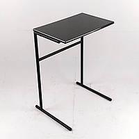 Стол для ноутбука приставной антрацит - черный