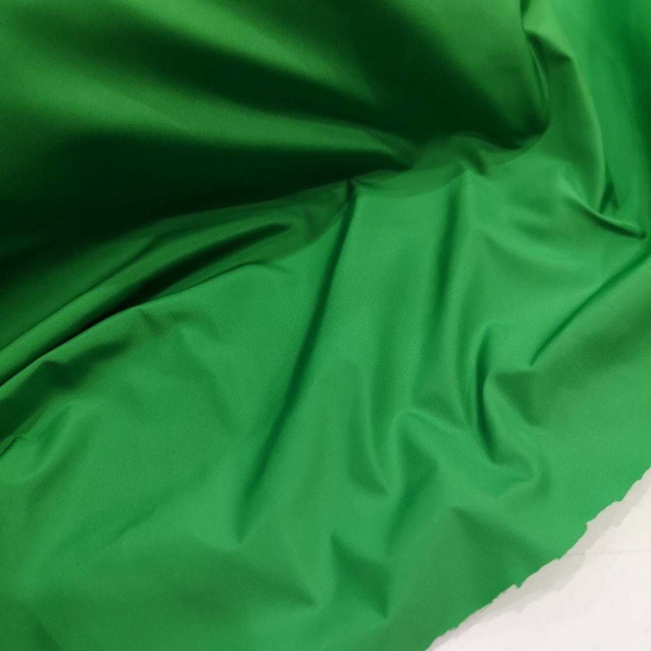 Ткань плащевка канада зеленая