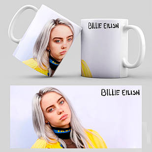 Чашка Billie Eilish 009