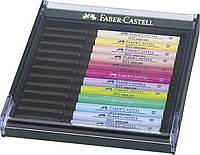 Набор лайнеров Faber Castell BRUSH 12 шт. Пастель (267420)