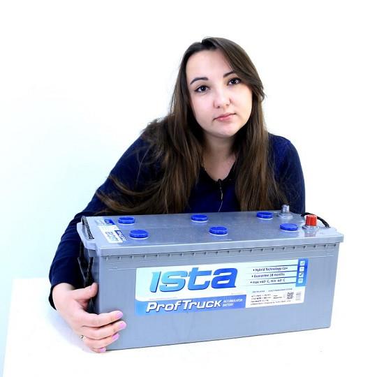 Аккумулятор ISTA Prof.Truck 6СТ-200
