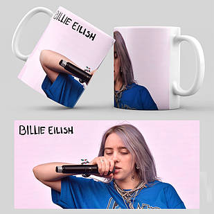 Чашка Billie Eilish 014