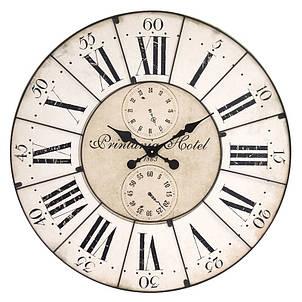 Деревянные настенные часы а ретро стиле 80 см Pastel Vintage, фото 2