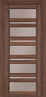 Дверь межкомнатная Terminus Модель 107 Миндаль (застекленная)