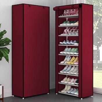 Тканевый шкаф-органайзер для обуви