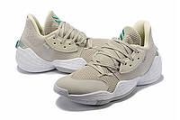 Мужские Баскетбольные кроссовки  Adidas Harden 4(Beige), фото 1