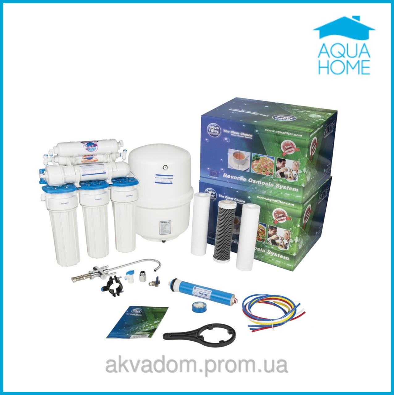 Фильтр осмос 6 ступеней Aquafilter RX65259516(FRO5M JG) - Аквадом  фильтры для очистки воды,насосы для воды, увлажнители,отопление,химия для бассейнов в Харькове