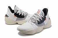 Мужские Баскетбольные кроссовки  Adidas Harden 4(White/beige), фото 1
