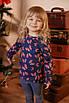 Кофточка детская для девочки с разрезами снизу Бабочки, фото 2