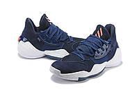 Мужские Баскетбольные кроссовки  Adidas Harden 4(Blue), фото 1