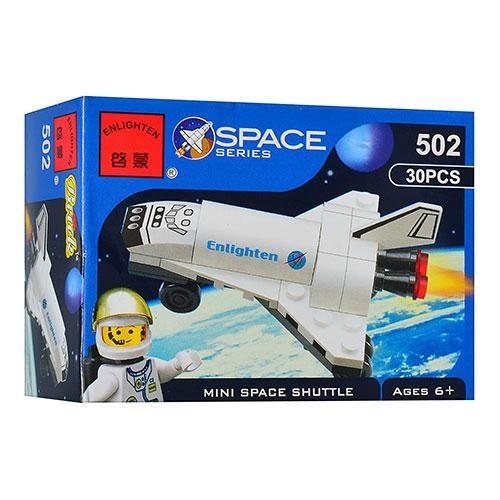 """Конструктор BRICK 502 """"Шатл"""", космонавт"""