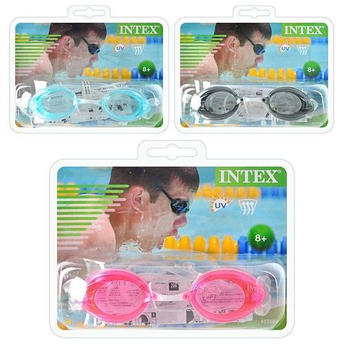 Очки для плавания 55684sh  (12шт) INTEX