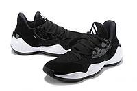 Мужские Баскетбольные кроссовки  Adidas Harden 4(Black/white), фото 1