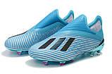 Бутсы Adidas X 19+ FG Blue-blue, фото 3