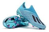 Бутсы Adidas X 19+ FG Blue-blue, фото 6