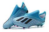 Бутсы Adidas X 19+ FG Blue-blue, фото 4