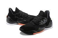Мужские Баскетбольные кроссовки  Adidas Harden 4(Black/orange), фото 1