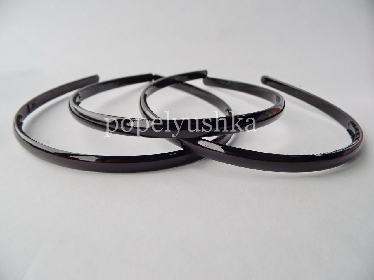 Обруч пластиковый 8 мм черный