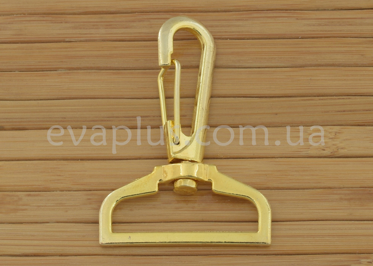 Карабін для сумки 32 мм. 232з (золото)