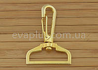 Карабін для сумки 32 мм. 232з (золото), фото 1