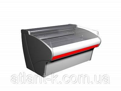 Витрина холодильная ВХСл-1,25 Сarboma для рыбы