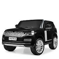 Детский электромобиль Land Rover черный