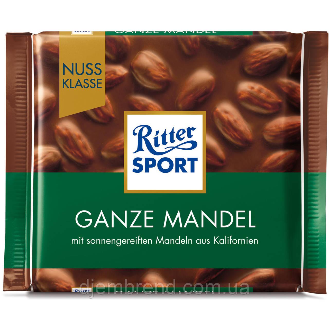 Шоколад Ritter Sport Ganze Mandel (100 Г)