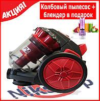 Колбовый пылесос PROMOTEC PM-655 3000W + блендер для коктейлей SHAKE'N TAKE в подарок!