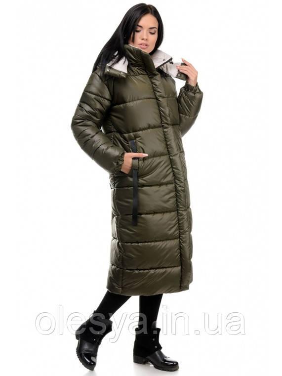 Стильный зимний пуховик с капюшоном Валенсия Размеры 44 - 50 Новинка Зима 2020!