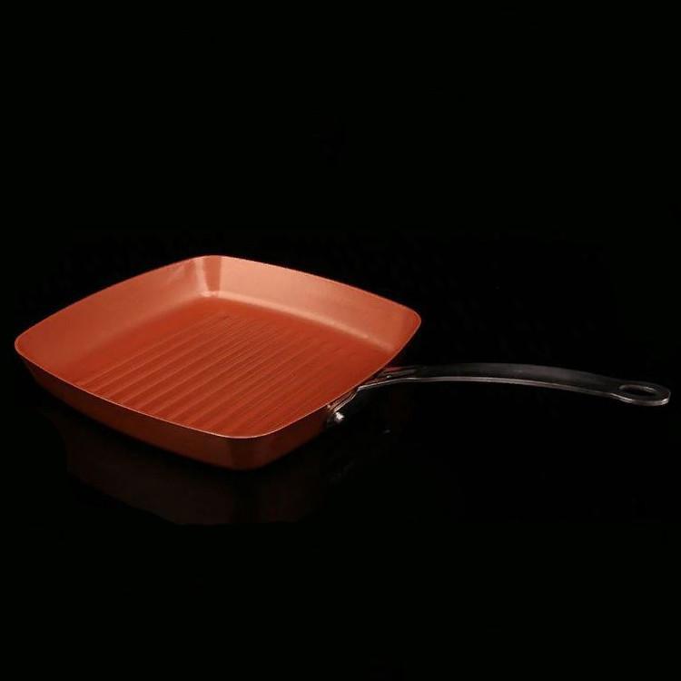Сковорода гриль с антипригарным покрытием Neoflam EC-DC-G28, 28 см.