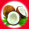 Кокос / Coconut 10 мл, 0 мг/мл, 50PG - PUFF Жидкость для электронных сигарет (Заправка)