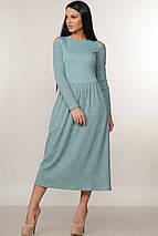 Женское трикотажное платье-миди (Венди ri), фото 2