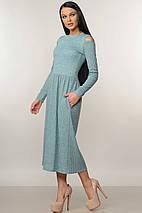 Женское трикотажное платье-миди (Венди ri), фото 3