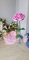 Ростовые цветы. Интерьерная роза. Супер подарок на любой случай!