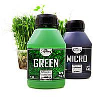 2 х 270 мл Green Kit набор удобрений для гидропоники и почвы