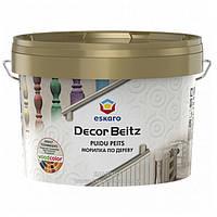 Средство ESKARO Decor Beitz для древесины (морилка), 2,7 л