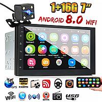 """IMars 7"""" 2DIN авто Магнитола Android 8, GPS, WIFI, Bluetooth + камера заднего вида"""