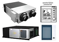 Приточно-витяжна вентиляційна установка з рекуперацією тепла Idea AHE-25W