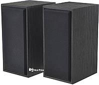 Компьютерные деревянные колонки 2.0 FT-101 Black (2820)