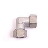 Регулируемая винтовая муфта 90º (сталь) Hydroflex 1043 - METRIC