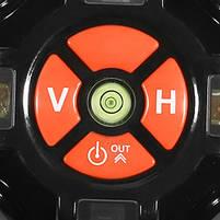 Лазерный уровень DEKO (DKLL-502)Зеленый луч 5 линий 6 точек + КЕЙС, фото 4