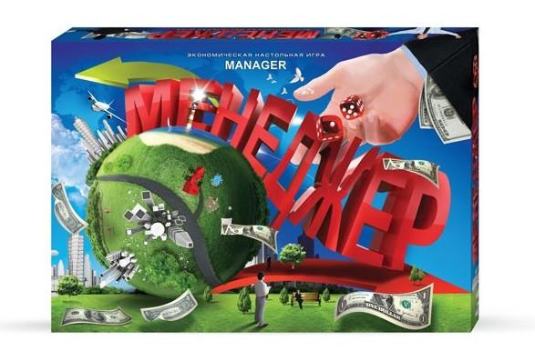 """Игра настольная 0239dm (20шт) """"Менеджер"""", """"Данко-тойс"""", мал., в коробке"""