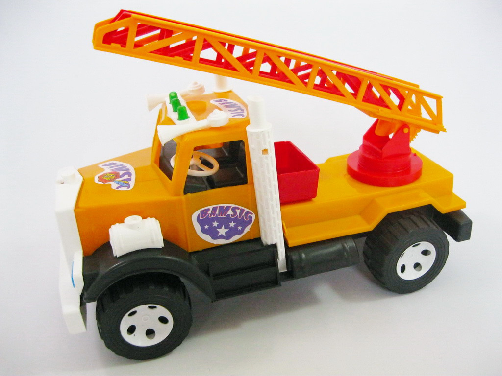 """Машина 004 """"BAMSIK"""", пожарная"""