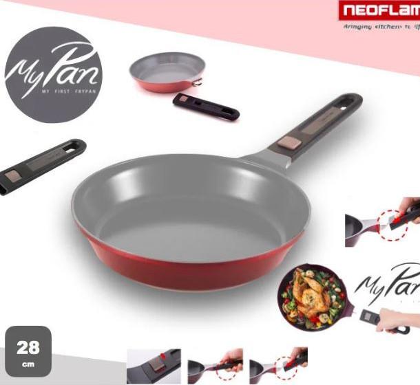 Сковорода с антипригарным покрытием Neoflam EK-MP-F28, 28 см.